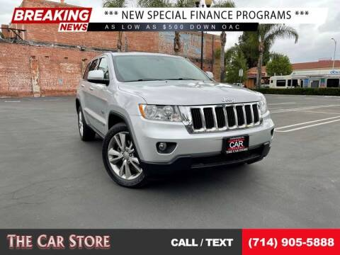 2011 Jeep Grand Cherokee for sale at The Car Store in Santa Ana CA