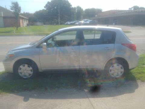 2012 Nissan Versa for sale at D & D Auto Sales in Topeka KS