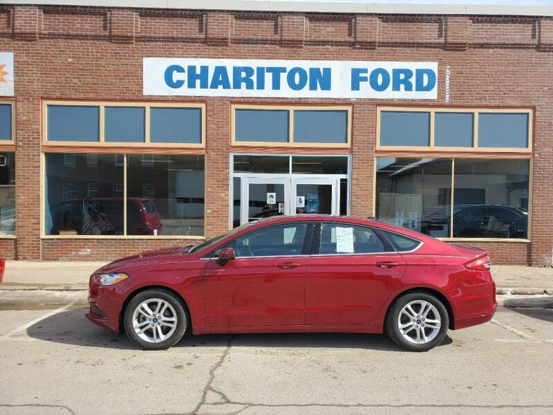 2018 Ford Fusion for sale at Chariton Ford in Chariton IA