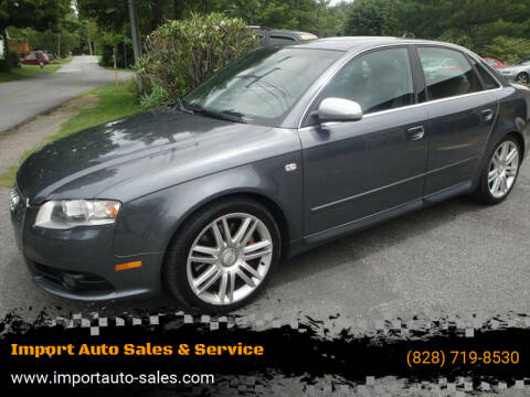 2007 Audi S4 for sale at Import Auto Sales & Service in Boone NC