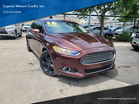 2016 Ford Fusion for sale at Capital Motors Credit, Inc. in Chicago IL