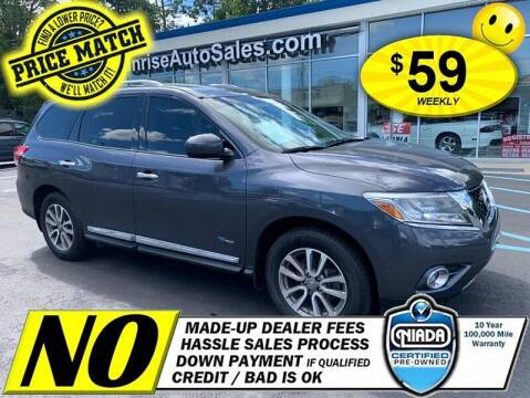 2014 Nissan Pathfinder Hybrid for sale at AUTOFYND in Elmont NY