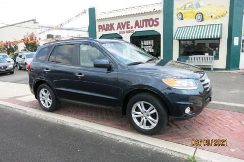 2012 Hyundai Santa Fe for sale at PARK AVENUE AUTOS in Collingswood NJ