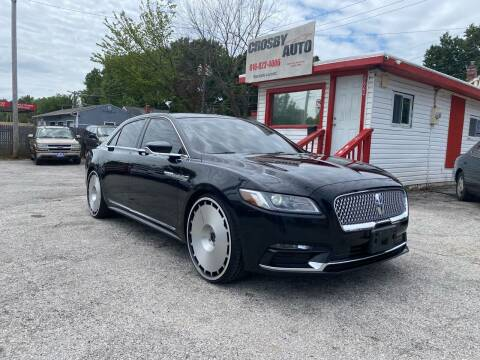 2017 Lincoln Continental for sale at Crosby Auto LLC in Kansas City MO