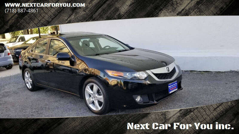 2010 Acura TSX for sale at Next Car For You inc. in Brooklyn NY
