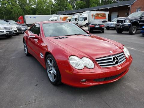 2006 Mercedes-Benz SL-Class for sale at Complete Auto Center , Inc in Raleigh NC