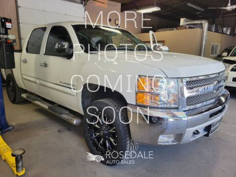 2013 Chevrolet Silverado 1500 for sale at Rosedale Auto Sales Incorporated in Kansas City KS