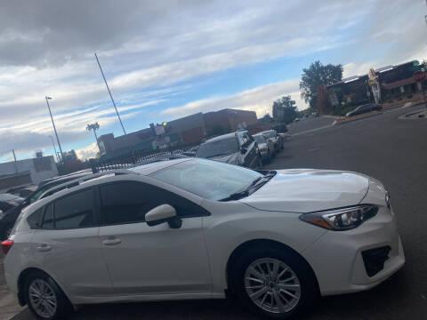 2018 Subaru Impreza for sale at Sanaa Auto Sales LLC in Denver CO