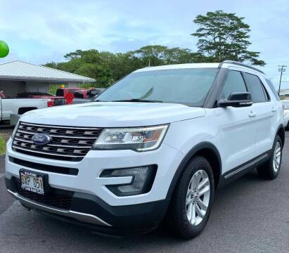 2016 Ford Explorer for sale at PONO'S USED CARS in Hilo HI