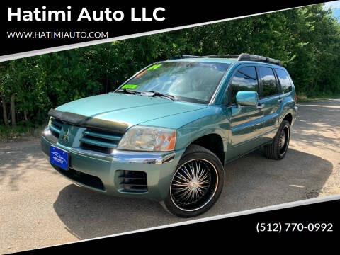 2004 Mitsubishi Endeavor for sale at Hatimi Auto LLC in Buda TX