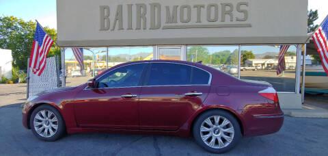 2009 Hyundai Genesis for sale at BAIRD MOTORS in Clearfield UT