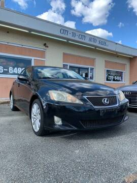 2006 Lexus IS 250 for sale at City to City Auto Sales in Richmond VA