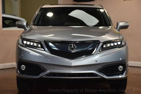 2018 Acura RDX for sale at Tampa Bay AutoNetwork in Tampa FL