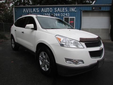 2011 Chevrolet Traverse for sale at Avilas Auto Sales Inc in Burien WA