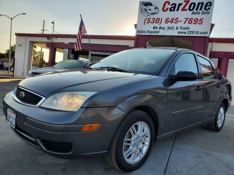 2007 Ford Focus for sale at CarZone in Marysville CA