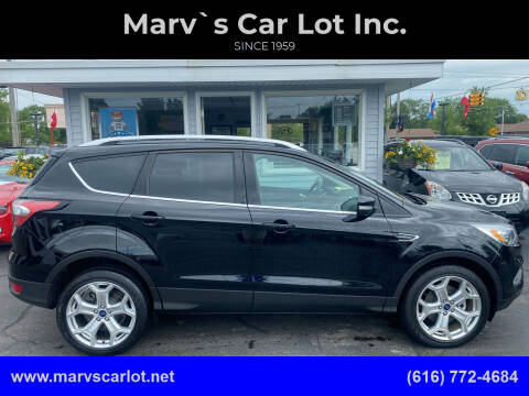 2018 Ford Escape for sale at Marv`s Car Lot Inc. in Zeeland MI