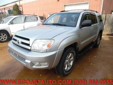 2004 Toyota 4Runner for sale at East Coast Auto Source Inc. in Bedford VA
