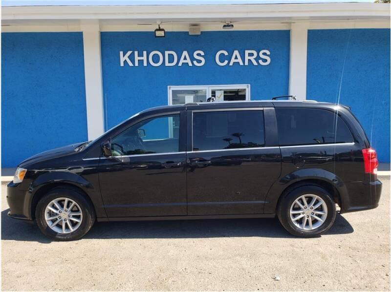 2019 Dodge Grand Caravan for sale at Khodas Cars in Gilroy CA