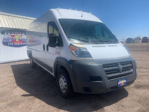 2016 RAM ProMaster Cargo for sale at Praylea's Auto Sales in Peyton CO