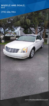 2007 Cadillac DTS for sale at WHEELZ AND DEALZ, LLC in Fort Pierce FL