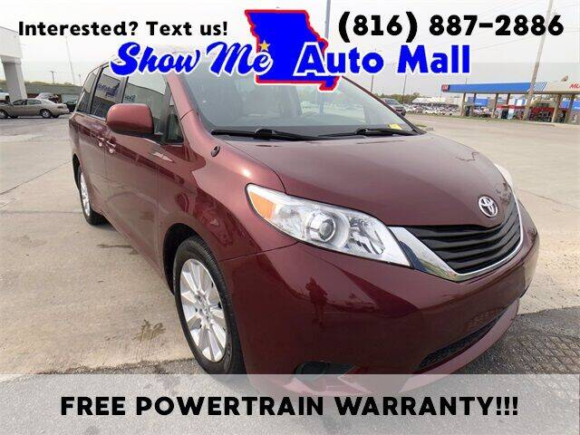 2014 Toyota Sienna for sale at Show Me Auto Mall in Harrisonville MO