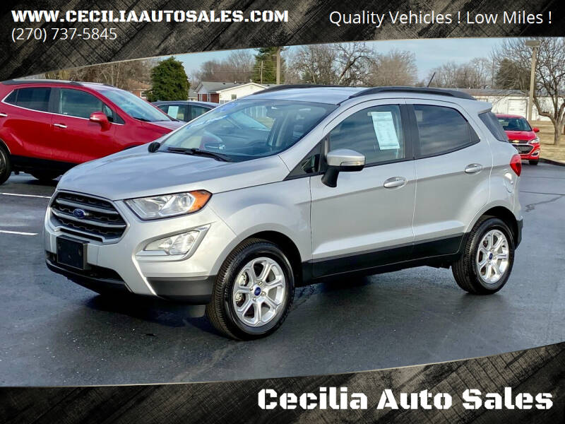 2020 Ford EcoSport for sale at Cecilia Auto Sales in Elizabethtown KY