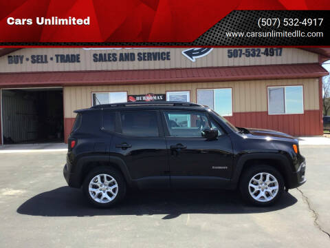 2017 Jeep Renegade for sale at Cars Unlimited in Marshall MN