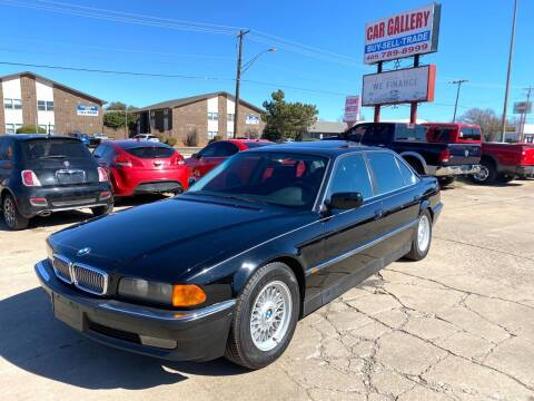 1995 BMW 7 Series for sale at Car Gallery in Oklahoma City OK