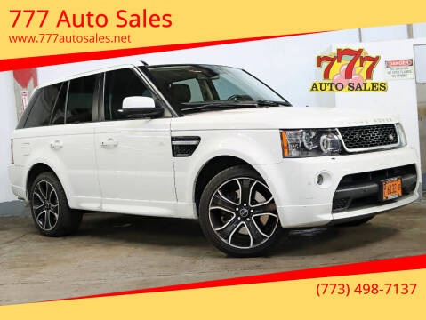 2013 Land Rover Range Rover Sport for sale at 777 Auto Sales in Bedford Park IL