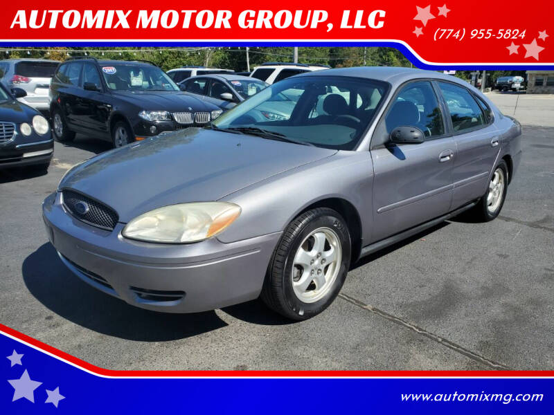2007 Ford Taurus for sale at AUTOMIX MOTOR GROUP, LLC in Swansea MA
