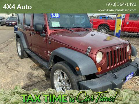 2007 Jeep Wrangler Unlimited for sale at 4X4 Auto in Cortez CO