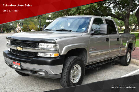 2002 Chevrolet Silverado 2500HD for sale at Schaefers Auto Sales in Victoria TX