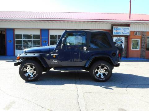 2006 Jeep Wrangler for sale at Twin City Motors in Grand Forks ND