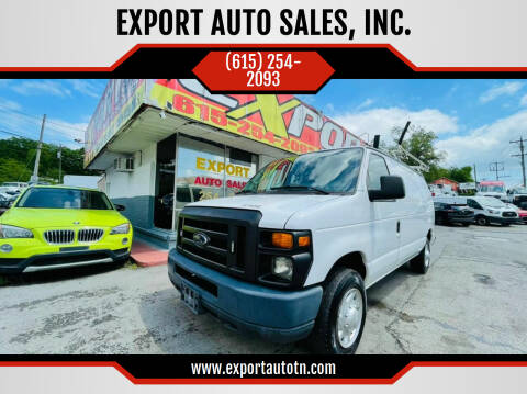 2012 Ford E-Series Cargo for sale at EXPORT AUTO SALES, INC. in Nashville TN