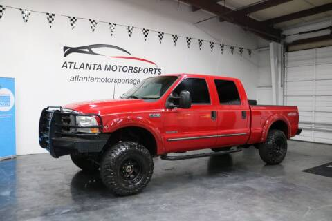 1999 Ford F-250 Super Duty for sale at Atlanta Motorsports in Roswell GA