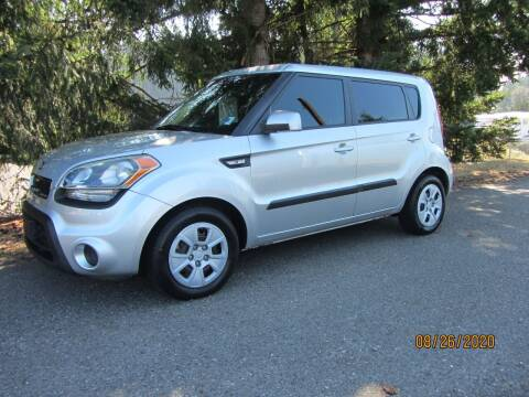 2013 Kia Soul for sale at B & C Northwest Auto Sales in Olympia WA
