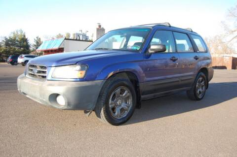 2004 Subaru Forester for sale at New Hope Auto Sales in New Hope PA