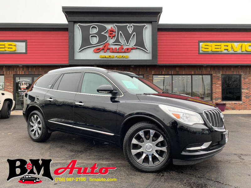 2017 Buick Enclave for sale at B & M Auto Sales Inc. in Oak Forest IL