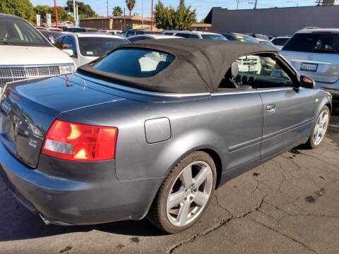 2006 Audi A4 for sale at McHenry Auto Sales in Modesto CA