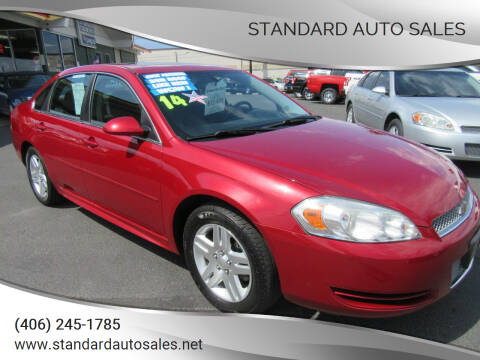 2014 Chevrolet Impala Limited for sale at Standard Auto Sales in Billings MT