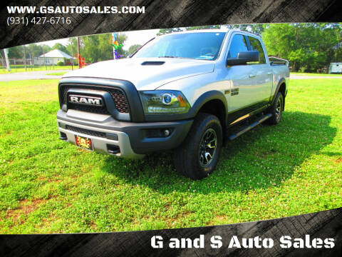 2016 RAM Ram Pickup 1500 for sale at G and S Auto Sales in Ardmore TN
