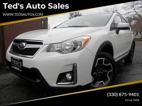 2017 Subaru Crosstrek for sale at Ted's Auto Sales in Louisville OH