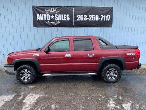 2004 Chevrolet Avalanche for sale at Austin's Auto Sales in Edgewood WA