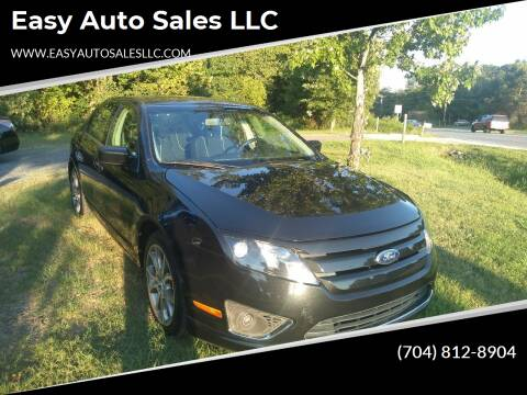2012 Ford Fusion for sale at Easy Auto Sales LLC in Charlotte NC