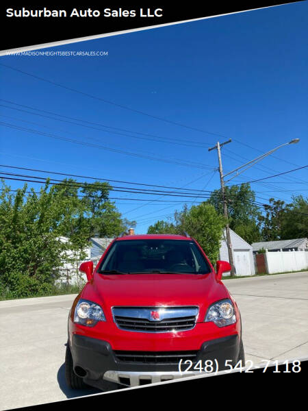 2009 Saturn Vue for sale at Suburban Auto Sales LLC in Madison Heights MI