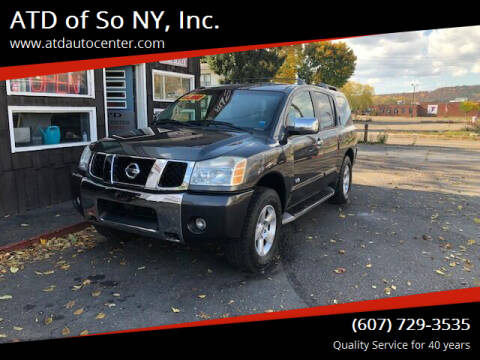 2005 Nissan Armada for sale at ATD of So NY, Inc. in Johnson City NY