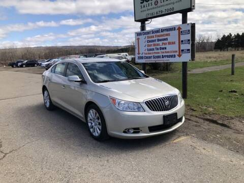 2013 Buick LaCrosse for sale at Sensible Sales & Leasing in Fredonia NY