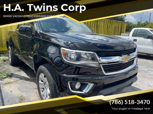 2015 Chevrolet Colorado for sale at H.A. Twins Corp in Miami FL