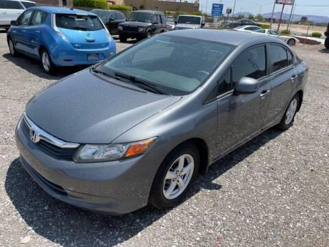 2012 Honda Civic for sale at REVEURO in Las Vegas NV