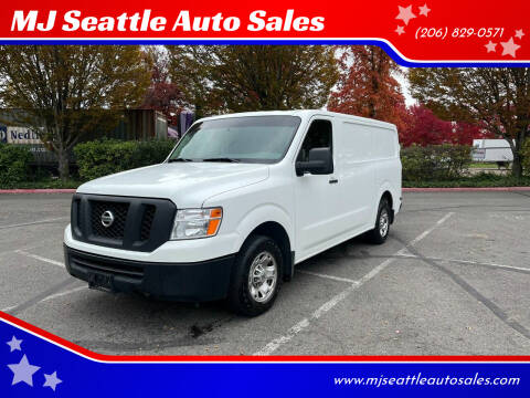 2016 Nissan NV Cargo for sale at MJ Seattle Auto Sales in Kent WA